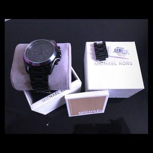 Women's Bradshaw Chronograph Black Dial Watch
